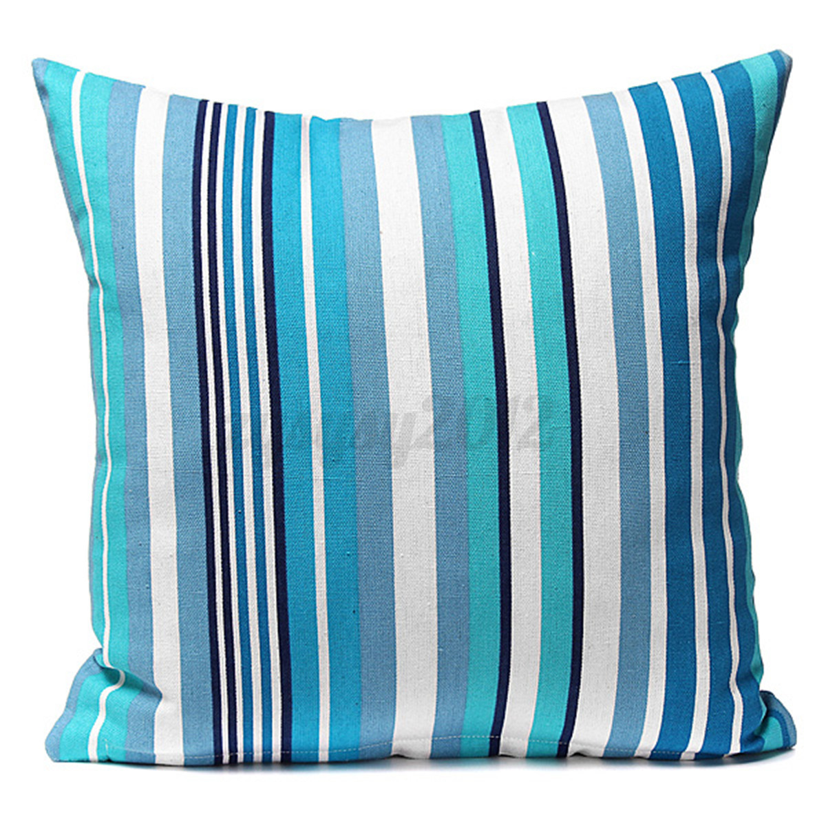 Colorful Luxury Flower Stripe Home Decor Square Throw Pillow Case Cushion Cover