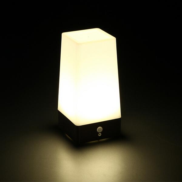 new retro led wireless motion sensor table battery lamp