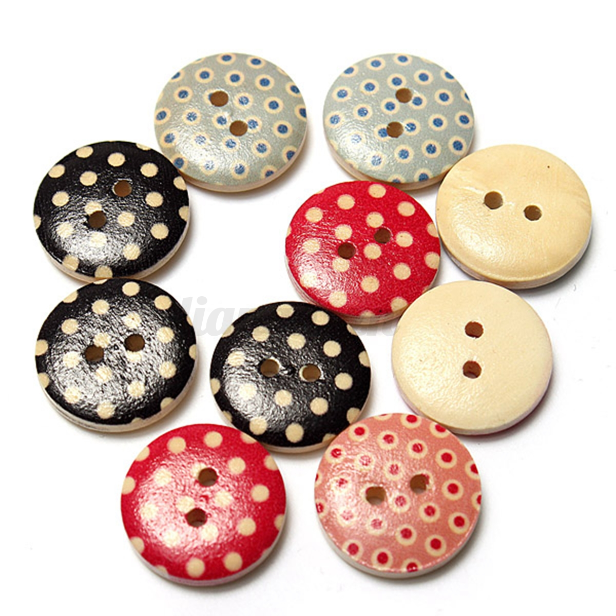 10 100x mixte boutons 2 trous coudre tricot couture for Couture mercerie