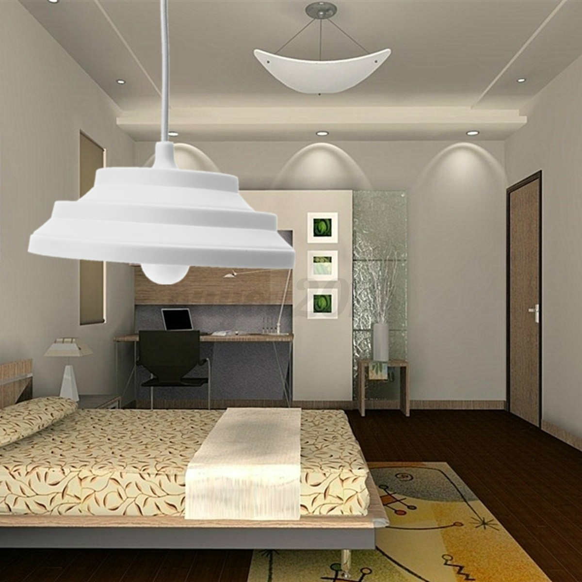 e27 abat jour silicone douille pendentif plafond lampe ampoule edison diy d cor ebay. Black Bedroom Furniture Sets. Home Design Ideas