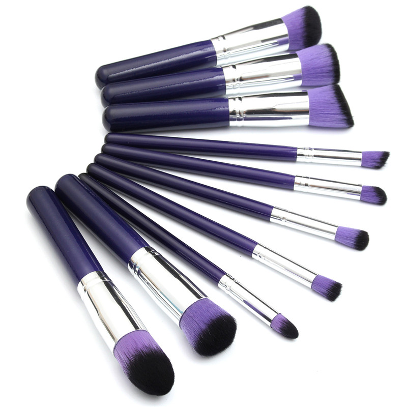 1/3/5/7/10/12/15/24Pc Pro Foundation Brush Eyeliner Eyeshadow Makeup Brushes New