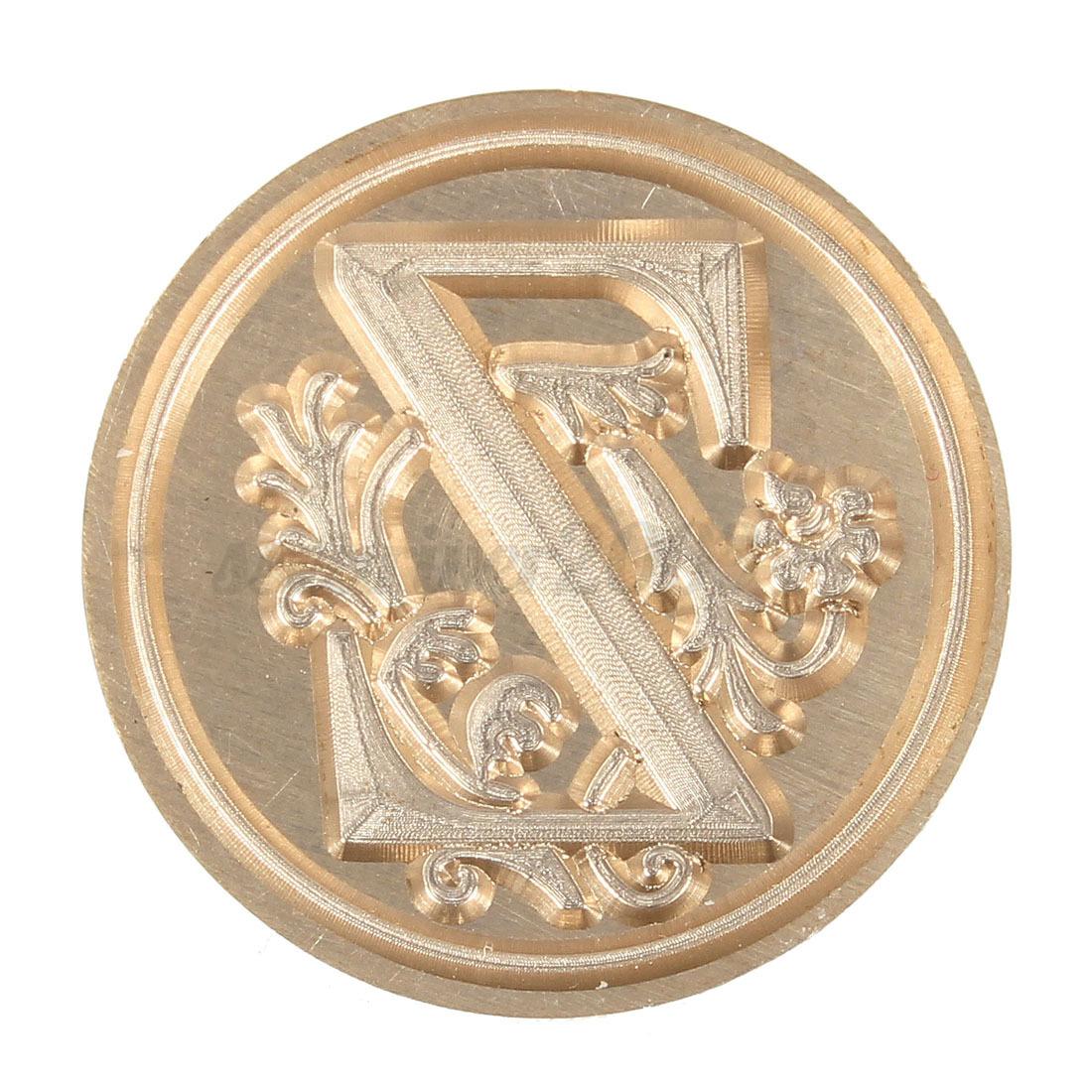 sceau cachet tampon bronze cire cuivre bois laiton t te alphabet alphabet a z ebay. Black Bedroom Furniture Sets. Home Design Ideas