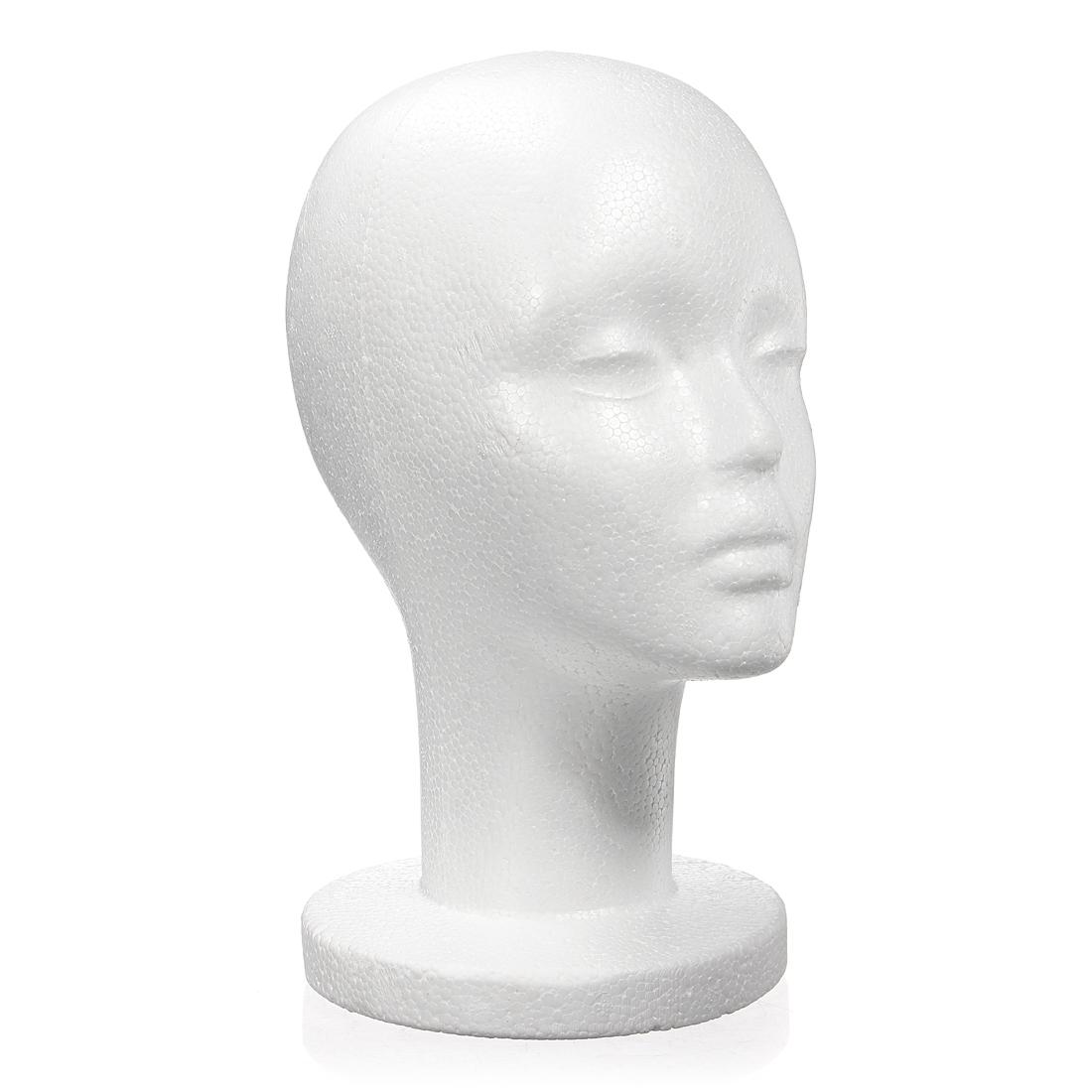 femme mannequin t te coiffer presentoir chapeau perruque. Black Bedroom Furniture Sets. Home Design Ideas