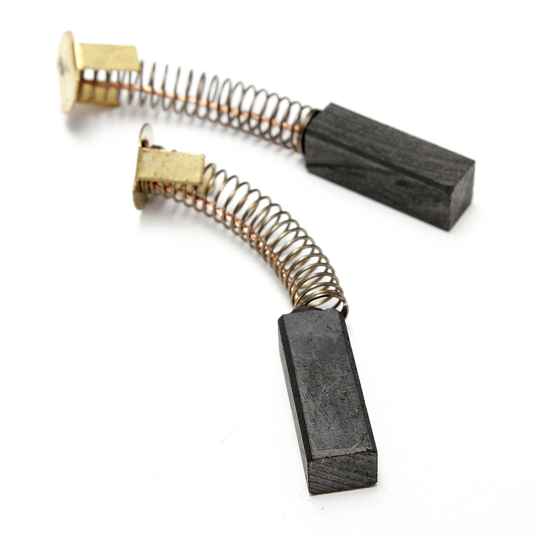 Pair Carbon Brushes Replacement For Electric Motor Power