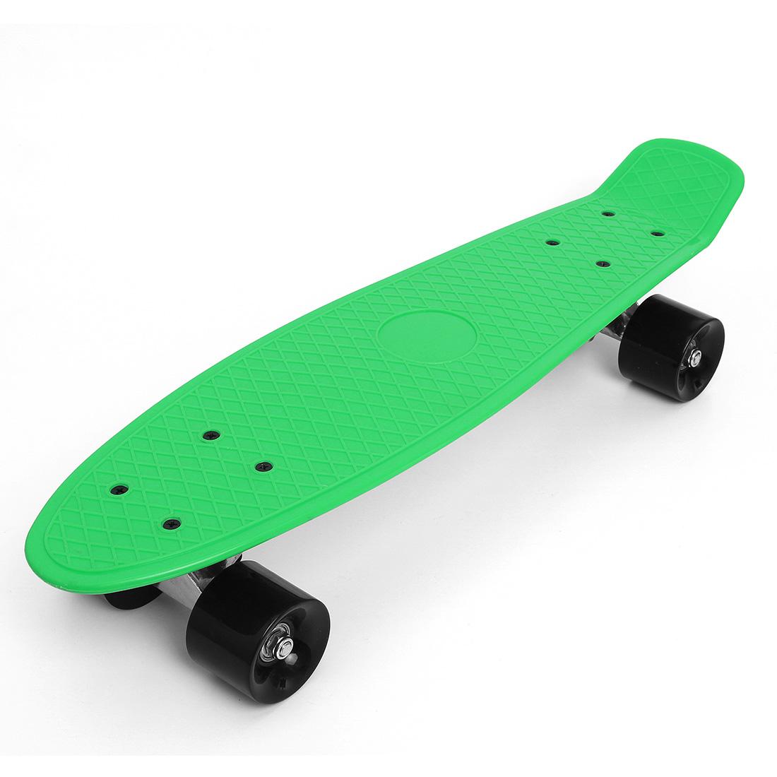 22 zoll retro skate longboard skateboard komplett street penny mini cruiser neu ebay. Black Bedroom Furniture Sets. Home Design Ideas