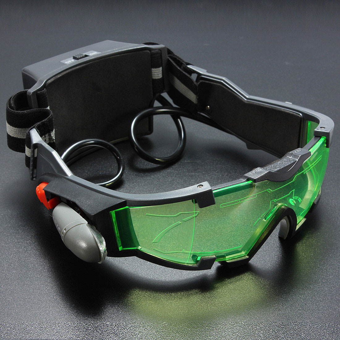 how to make night vision goggles with household items
