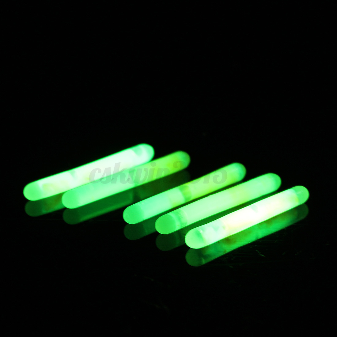 30pcs 6bags fishing chemical lights fluorescent for Fishing glow sticks