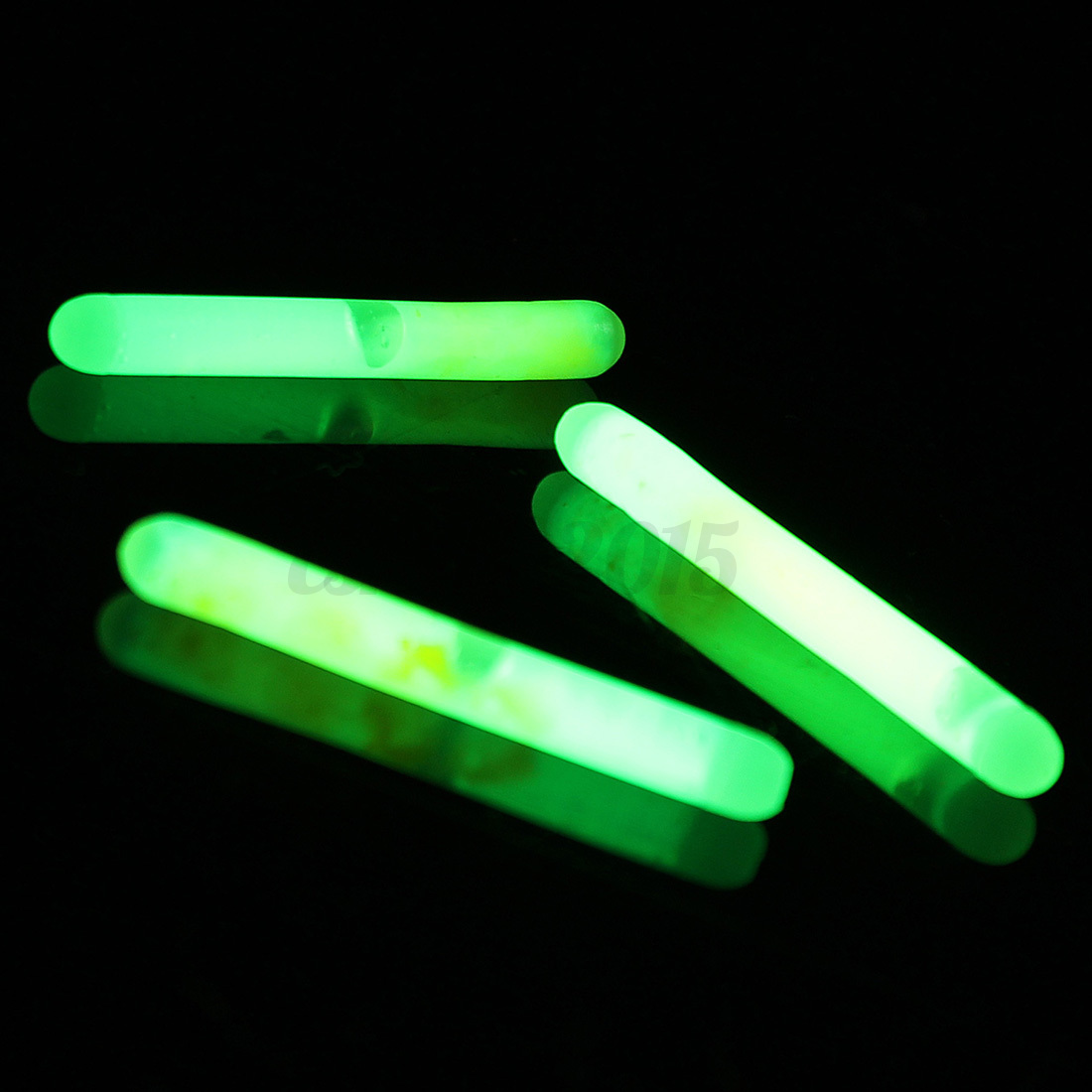 30pcs 6bags fishing chemical lights fluorescent for Glow in the dark fishing pole