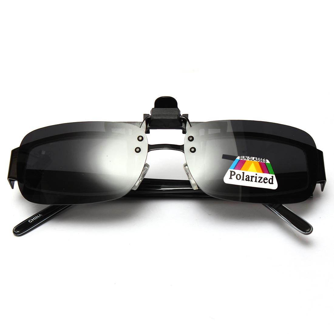 cfc58d349b Non-polarized Clip-on Flip-up Sunglasses