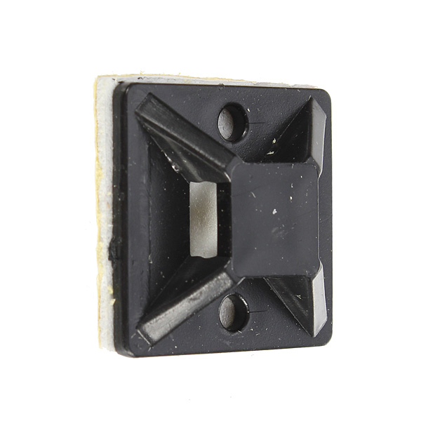 10 20 30 Self Adhesive Cable Tie Mounts Base Holder Clamp