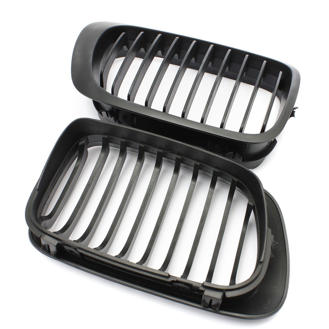 Bmw Grills: Gloss Black Front Kidney Hood Grille Grill For BMW E46 3