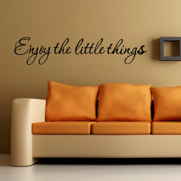 Words For The Wall Home Decor: Quote Mural Words Art Vinyl Wall Sticker Home Kitchen Room