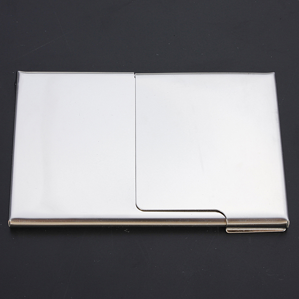 Creative semi open business id credit driver card holder for Creative business card holders