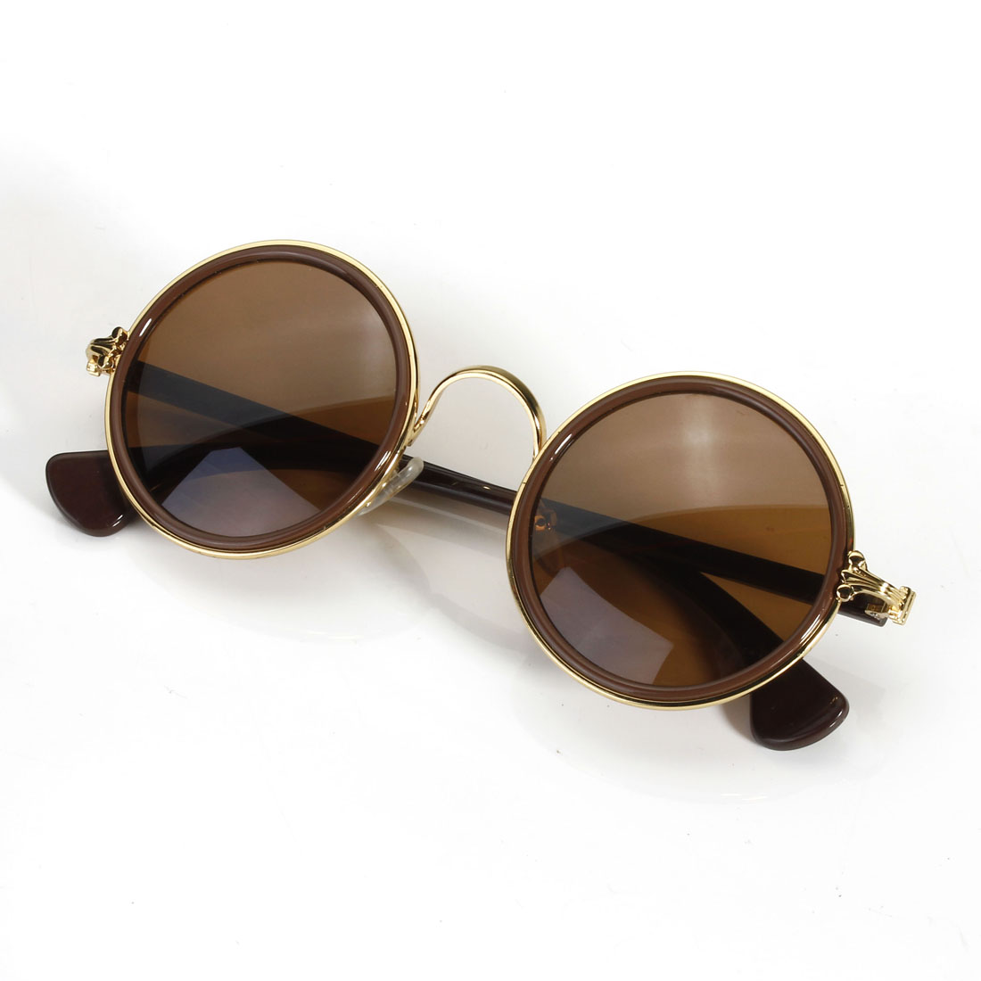 Tondi occhiali da sole sunglasses vintage retro rotondi for Occhiali tondi da vista vintage