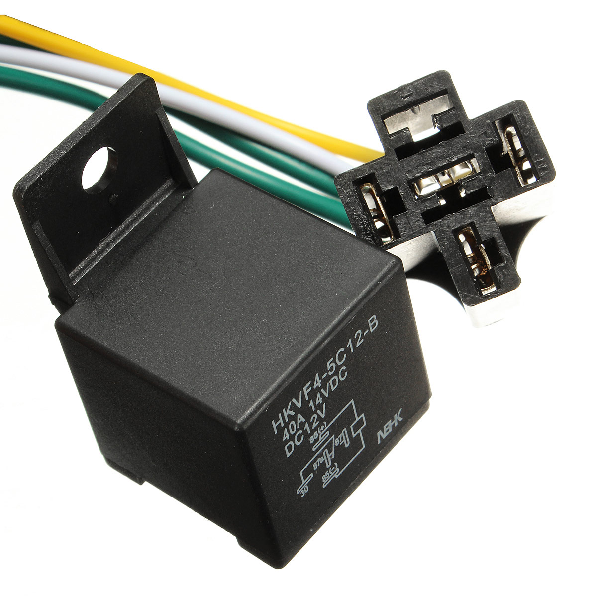 Car Auto Dc 12v Volt 30  40a Automotive 4 Pin 4 Wire Relay
