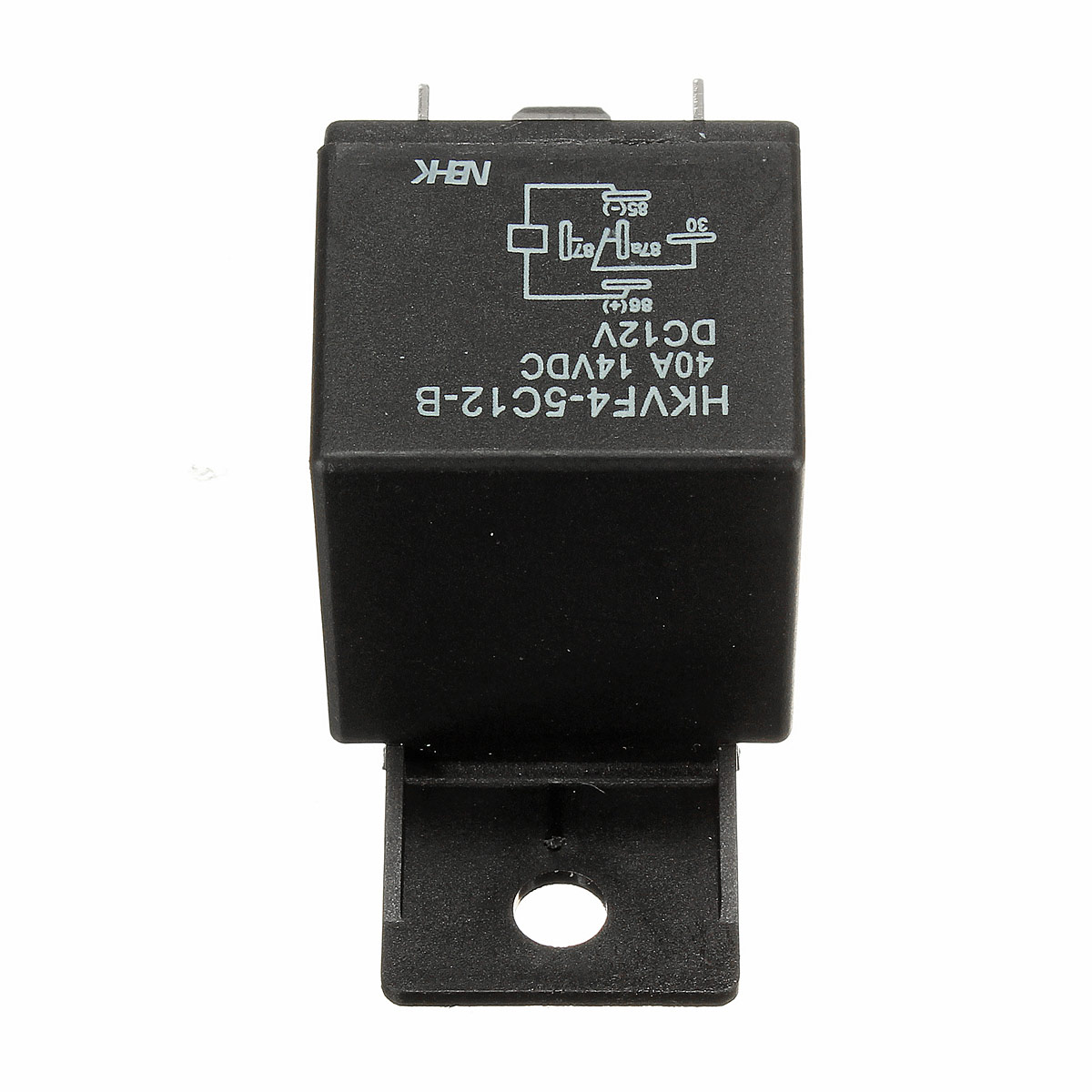 1x 12v 12volt 30a  40a Auto Automotive Relay Socket 30 Amp