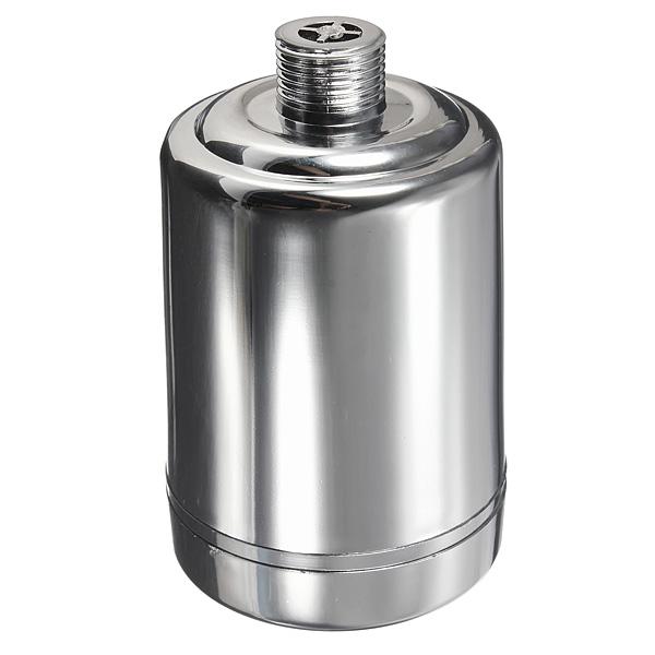 in line shower head filter faucet softener remove chlorine water purifier chr. Black Bedroom Furniture Sets. Home Design Ideas