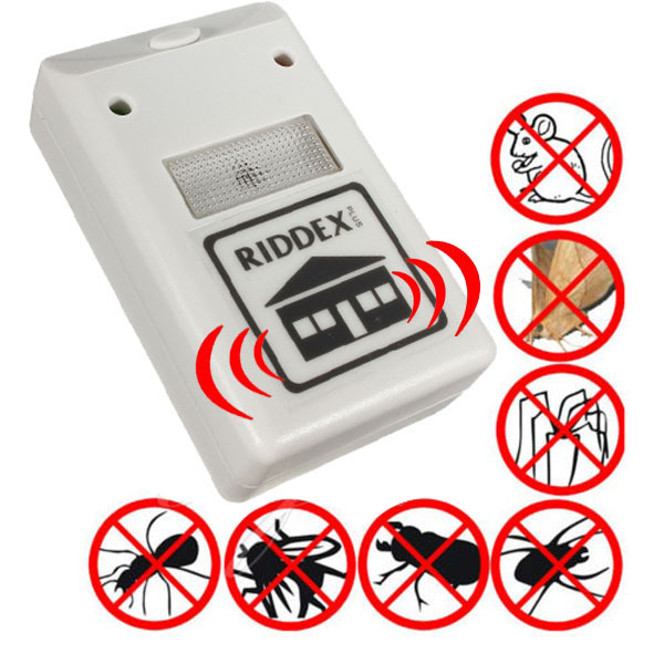 New Applied Ultrasonic Riddex Plus Electronic Pest ...