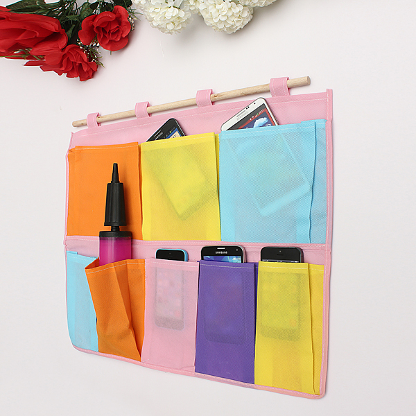 Home Hanging Organizer Shoe Cloth Letter Sundries Storage