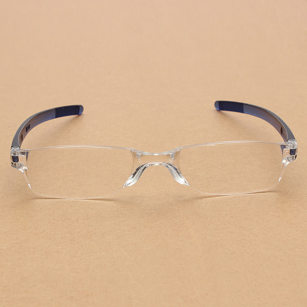 Rimless Glasses Lightweight : Elegant Lightweight Transparent Rimless Reading Glasses ...