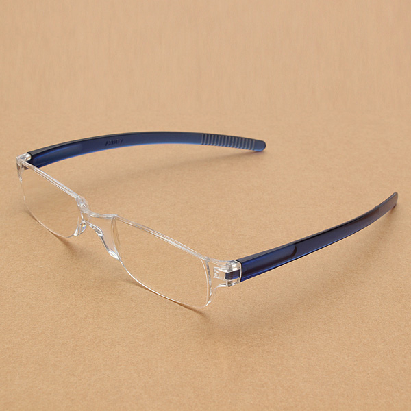 Frameless Magnifying Glasses : Elegant-Lightweight-Transparent-Rimless-Reading-Glasses ...