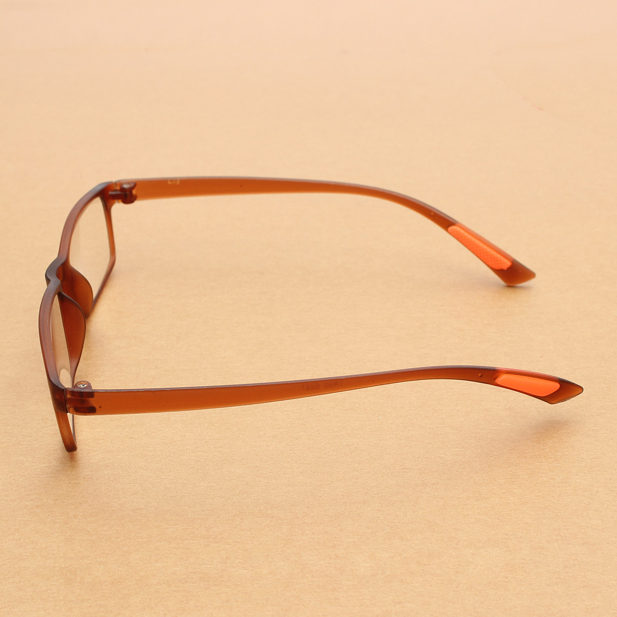 Unisex Flexible Eyeglasses Tawny Frame Super Light Weight ...