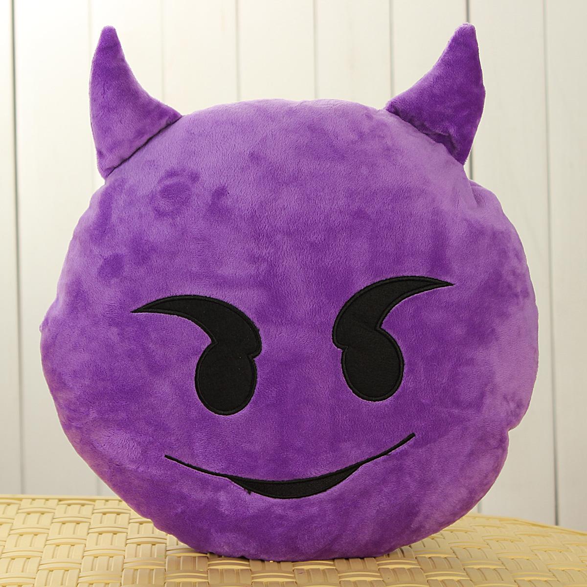13 Tipo Emoji Emoticono Cojín Almohada Emoticon Muñeco