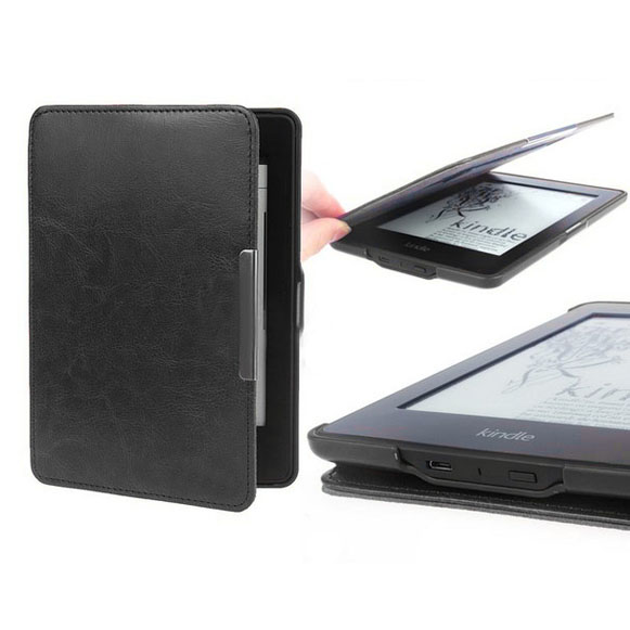 Premiu Ultra Slim PU Leather Smart Case Cover For New Amazon Kindle Paperwhite