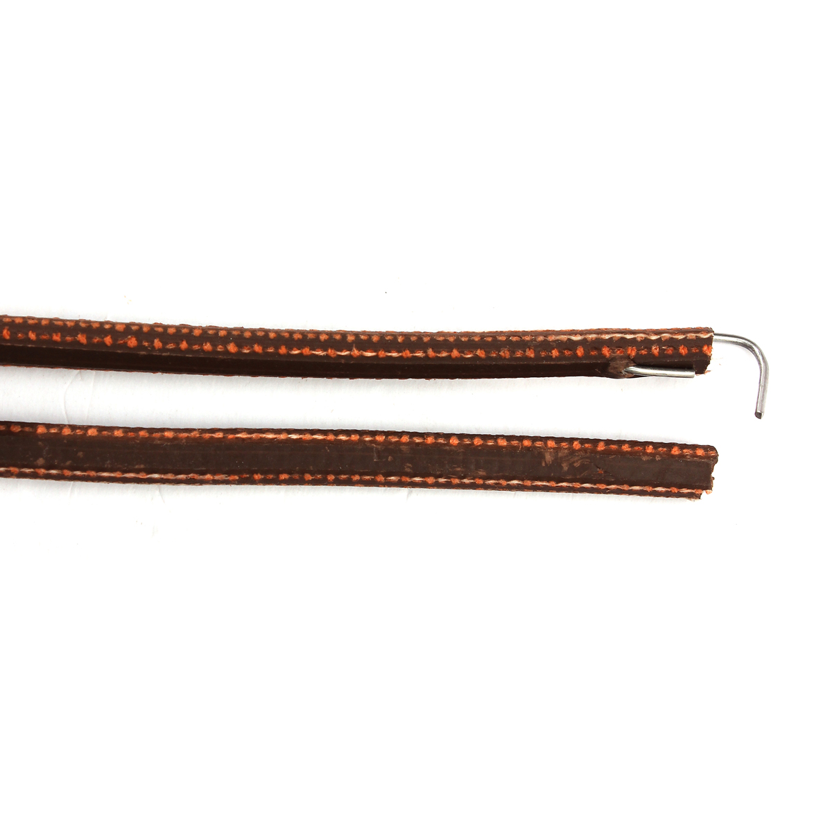 71 quot 3 16 quot leather belt treadle parts with hook for singer