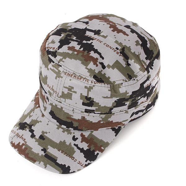 Unisex Adjustable Camo Military Hunting Hat Men Women Army Baseball Outdoor Cap