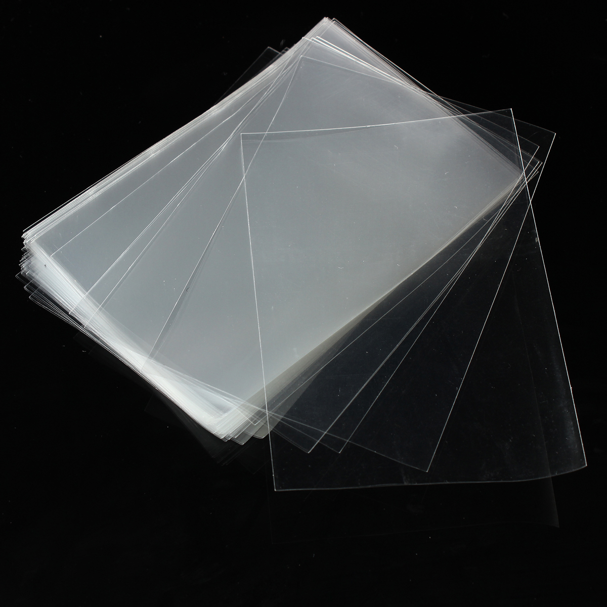 100 sleeves cello bags clear plastic bag cellophane 8 12cm for party gift candy. Black Bedroom Furniture Sets. Home Design Ideas