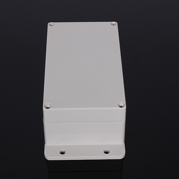 158x90x64mm Plastic Waterproof Cover Clear Electronic