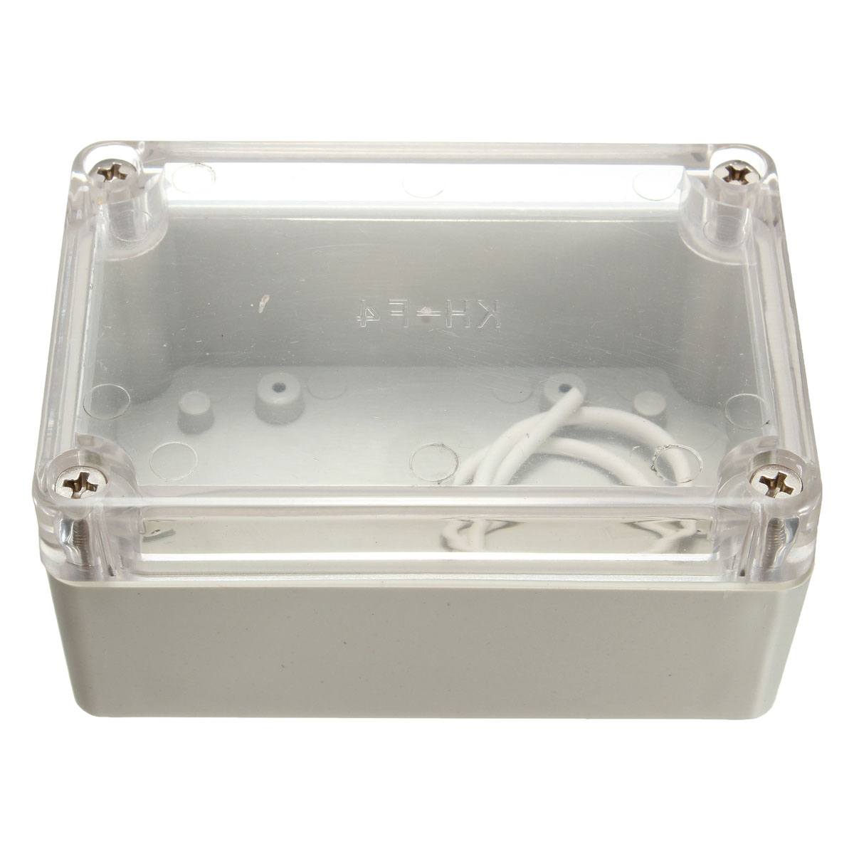 100x68x50mm Waterproof Clear Cover Electronic Project Box