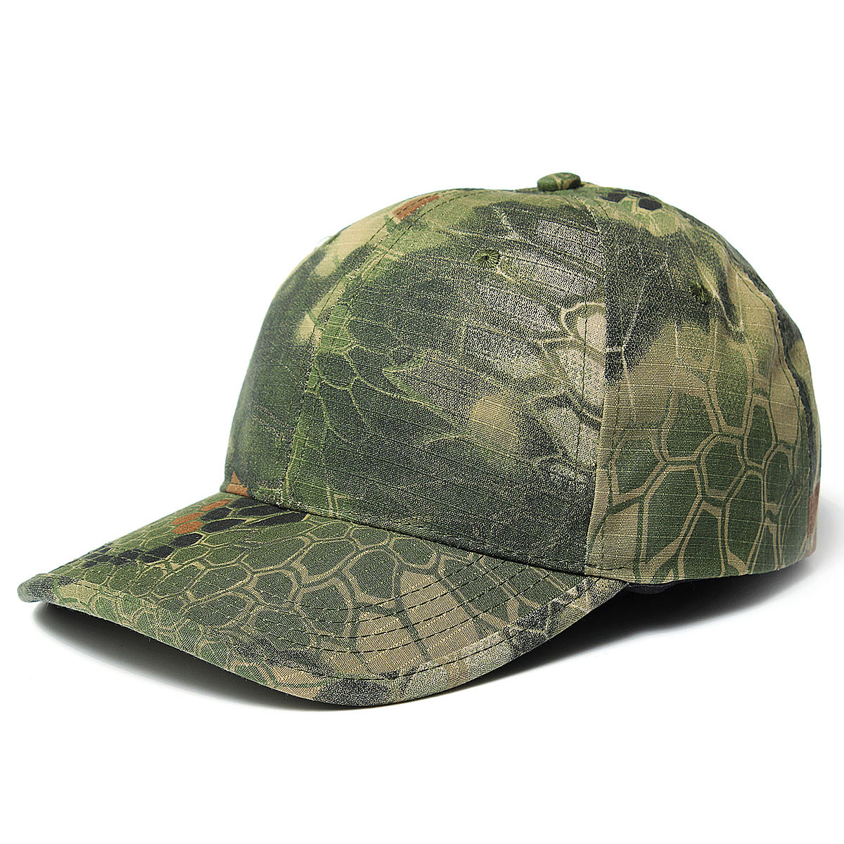 Men women camo cap adjustable velcro military hunting for Camo fishing hat
