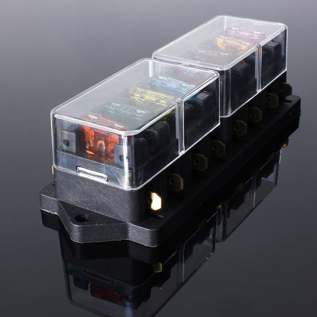 rk5 fuse holder in box box car vehicle automotive blade fuse holder block