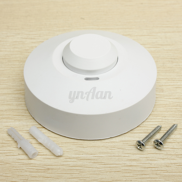 Microwave/Infrared Occupancy Sensor PIR Motion Light Switch Ceiling Wall Recess