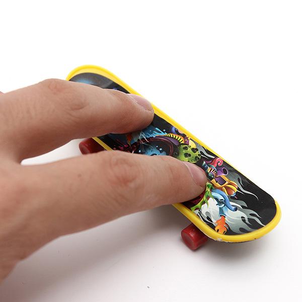 4x mini plastic tech deck toy skate finger board skateboards children kids 39 gift ebay - Tech deck finger skateboards ...