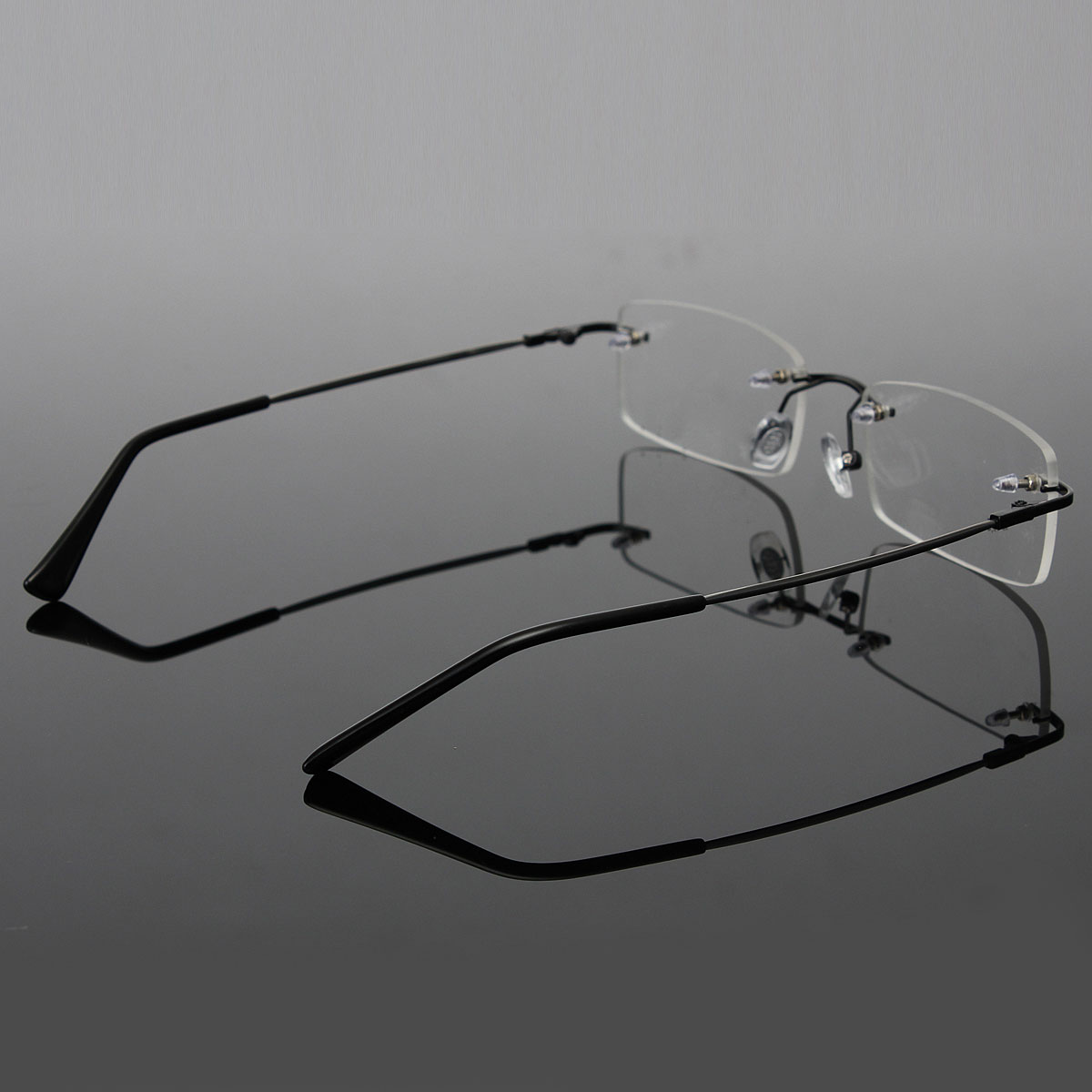 Mens Lightweight Portable Memory Titanium Rimless ...
