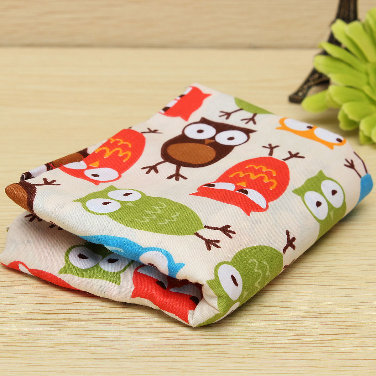 52x160cm coupons tissu patchwork coton hibou chouette rideau enfant artisanat ebay. Black Bedroom Furniture Sets. Home Design Ideas