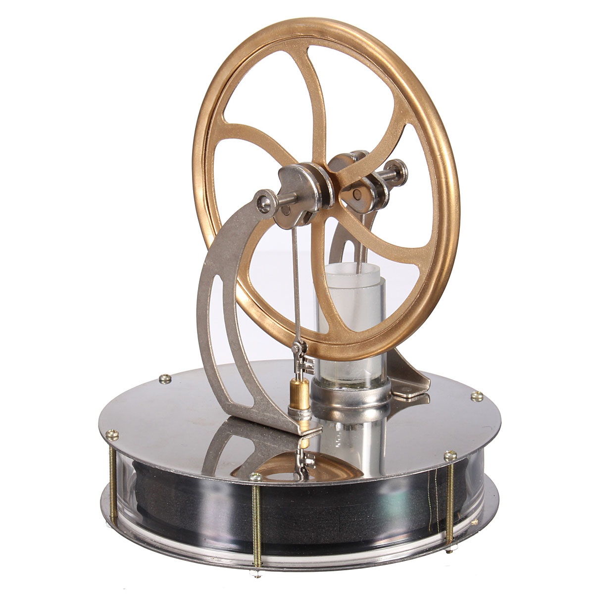Low Temperature Stirling Engine Heat Model Cool No Steam