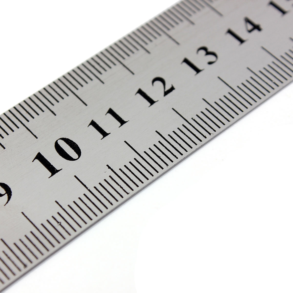 30cm stainless steel metal ruler rule precision double sided measuring tool new ebay. Black Bedroom Furniture Sets. Home Design Ideas