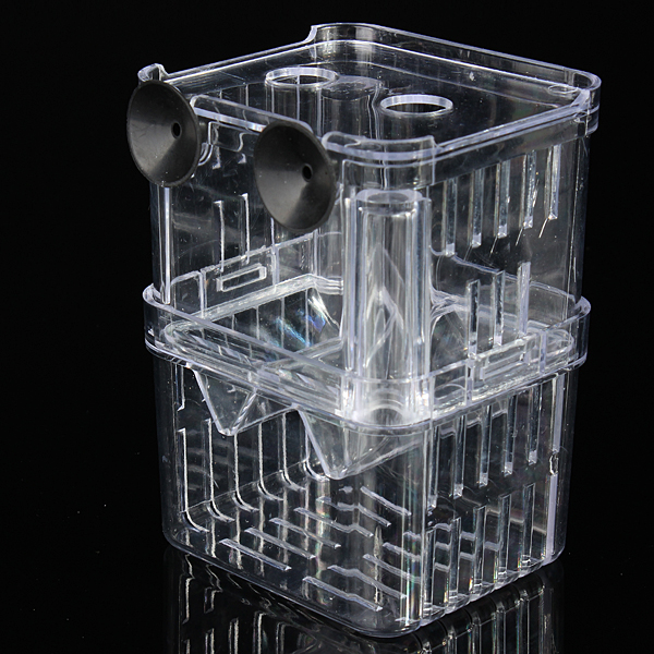4 in1 aquarium fish fry breeding hatchery incubator for Fish breeding tank