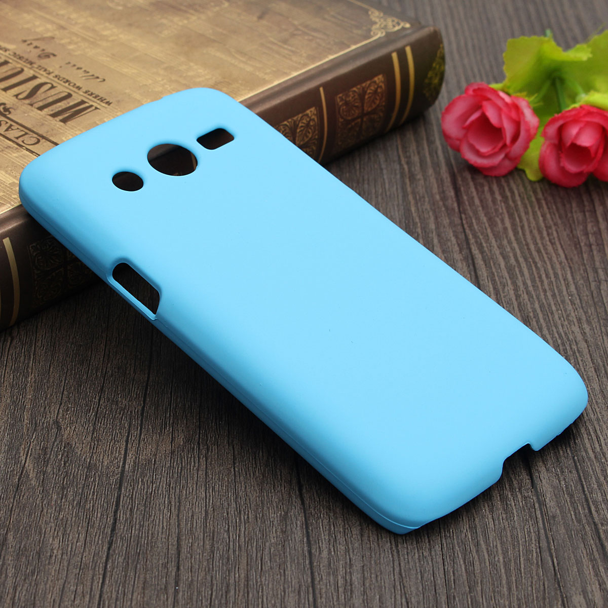 Durable Matte PC Hard Back Cover Case For Samsung Galaxy Core LTE 4G SM-G386F