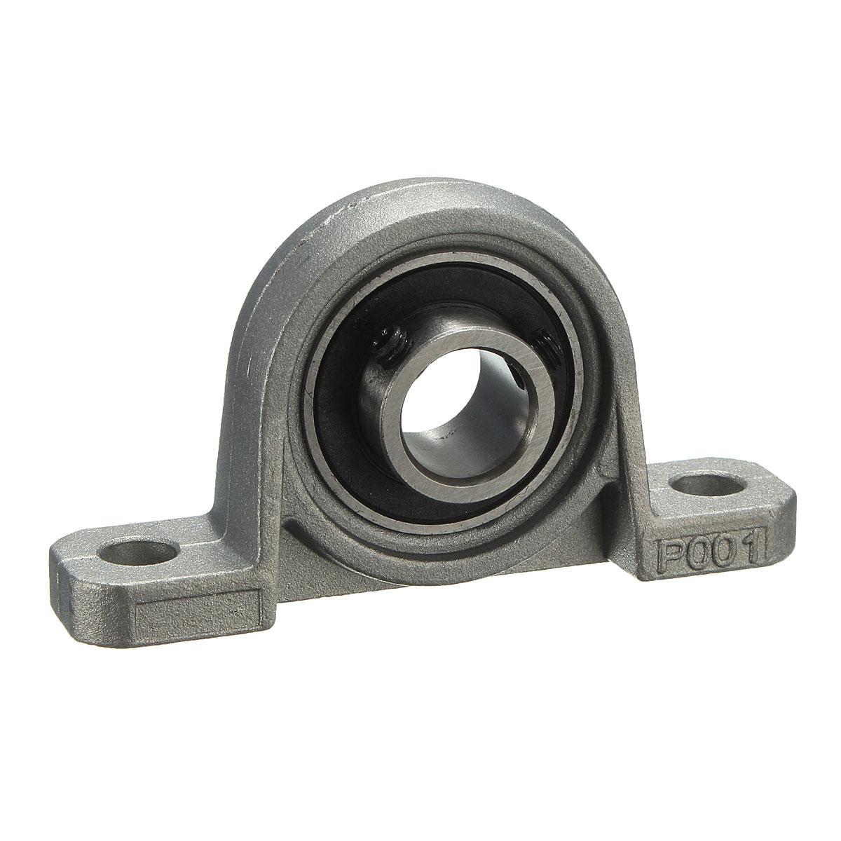 12mm metal palier roulement bille bloc deux boulon al sage zinc alliage kp001 ebay - Roulement a bille ...