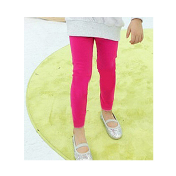 New Girl Winter Warm Candy Color Cotton Leggings Plus Velve Knitted Thick Shinny
