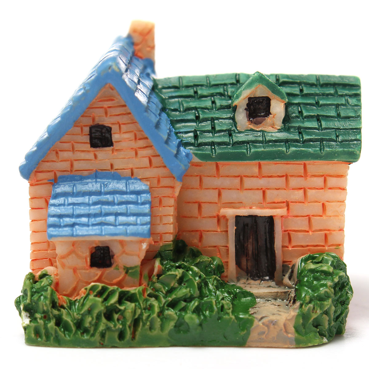 Mini villa miniature micro ornement jardini re pot de for Decoration jardin villa