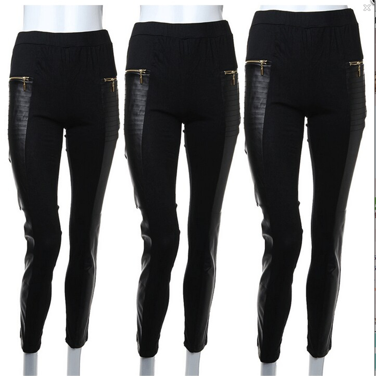 ASOS DESIGN Petite leather look leggings with elastic slim waist. $ ASOS DESIGN Petite leather look leggings with panelling. $ Outrageous Fortune plus leather look pant in black. $ Lab Leather Pant in Skinny Fit. $ Outrageous Fortune leather look pant in black. $