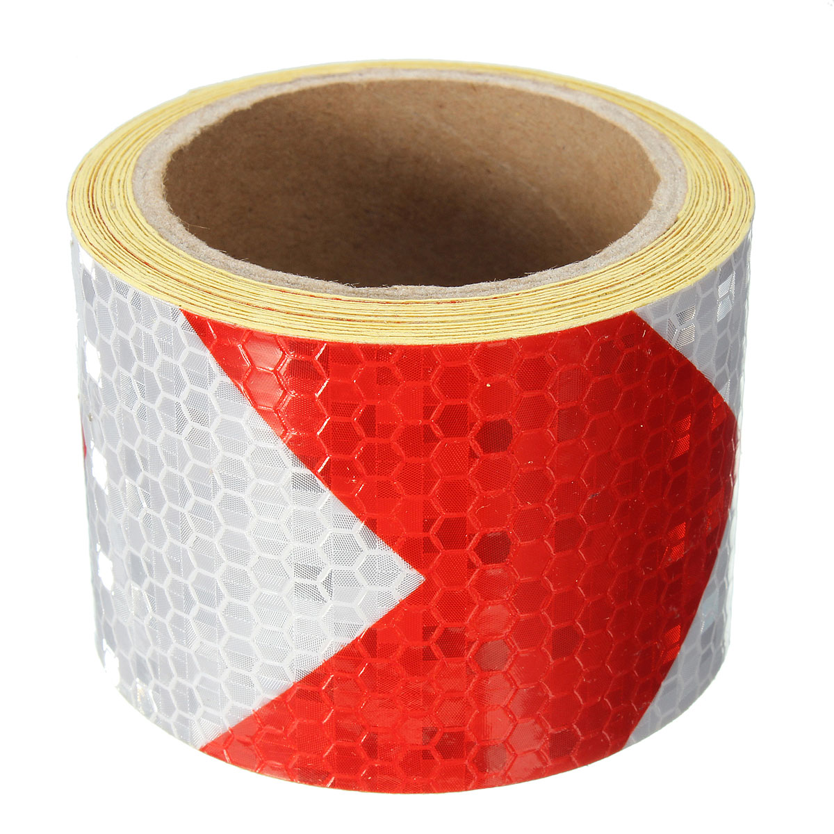 3M 5cm Types Night Reflective Safety Warning Conspicuity Tape Strip Film Sticker