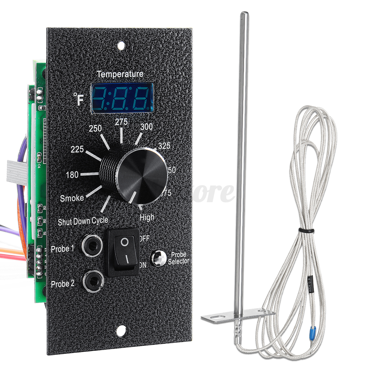 Digital Thermostat Controller Board For TRAEGER Pellet Grill Temp & Meat Probes