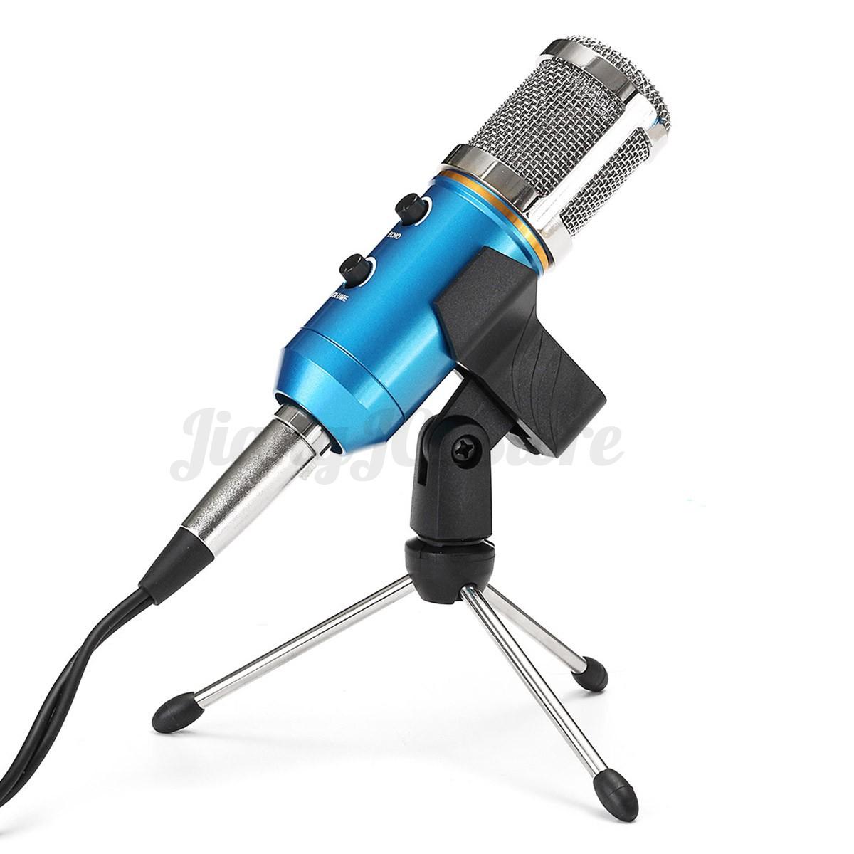 professional dynamic usb condenser studio sound recording vocal microphone mic ebay. Black Bedroom Furniture Sets. Home Design Ideas